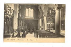 Interior, The Chapel, Charterhouse, London, England, UK, 1900-1910s