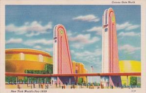 New York World's Fair 1939 Corona Gate North