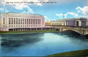 Pennsylvania Philadelphia New Post Office and Pennsylvania Station