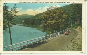 East Of Charlemont, Mass., The Deerfield River And Mohawk Trail