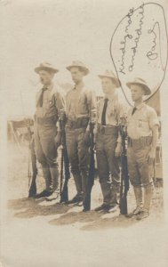RP: SEA GRIT , New Jersey, 1906 ; 3 Soldiers