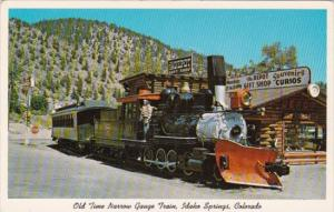 Trains Old Time Narrow Gauge Train At Idaho Springs Colorado