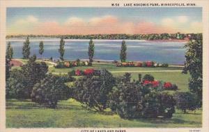 Minnesota Minneapolis Lake Nokomis Park City Of Lakes And Parks