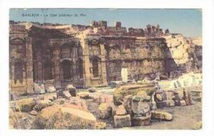 Ancient Ruins / Le Cote Interieur du Mur,Baalbek,Lebanon 1900-10s