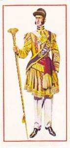 Carreras Vintage Cigarette Card Military Uniforms 1976 No 27 Drum Major 1853 ...