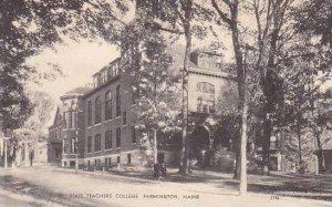 Maine Farmington State Teachers College Albertype