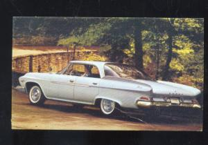 1960 DODGE DART PHOENIX VINTAGE CAR DEALER ADVERTISING POSTCARD YAKIMA WASH.