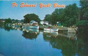 Yacht Basin at Fort Edward NY, New York