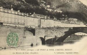 CPA Foix Le Pont de Foix Ariége (101743)