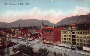 The Panorama of Ogden, Utah, Early Postcard, Unused