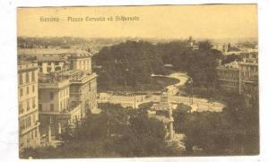 Piazza Corvetto ed Acquasola, Genova, Liguria, Italy, 00-10s