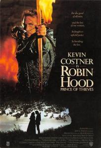 Robin Hood, Kenin Costner Movie Poster Postcard