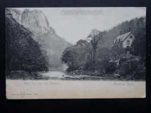 MATLOCK BATH HIGH TOR - Hold To The Light c1905 Postcard by WH Series 3247