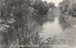 RP; SCOTTVILLE , Michigan , 1940-50s; Pere Marquette River