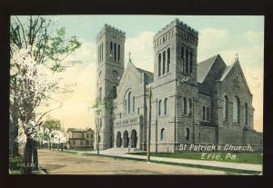 Erie, Pennsylvania/PA/Penn Postcard, St Patrick's Church