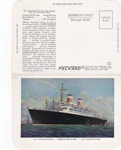 American Export Lines Ocean Liners S.S. Independence & Constitution , 30-40s
