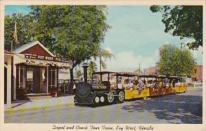 Florida Key West Conch Tour Train and Depot