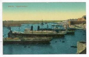 MALTA - Grand Harbour, 4 Oceanliners, 00-10s