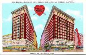 California Los Angeles Hotel Rosslyn and Annex