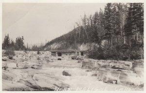 RP: Bridge , near Maligne Canon , Alberta , Canada , 00-10s