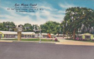 San Marco Court St Augustine Florida