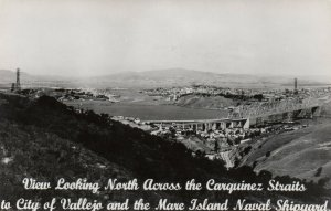 VALLEJO , California , 1930-40s ; Carquinez Straits