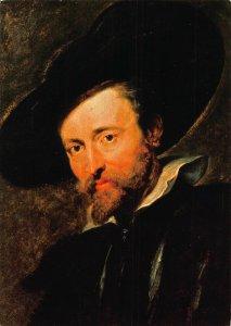 P.P. Rubens Auto Portrait, Zelfportret Postcard