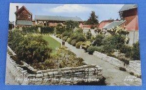 Vintage Postcard The Garden For The Blind Basingstoke Essex C1E