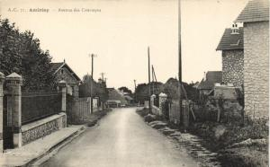 CPA ANDRESY-Avenue des Courtayes (260342)