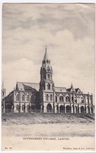 Pakistan; Government College, Lahore PPC, 1910 PMK To Connaught Sq, London