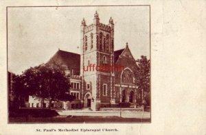 SOUTH BEND, IN ST. PAUL'S METHODIST EPISCOPLA CHURCH 1910