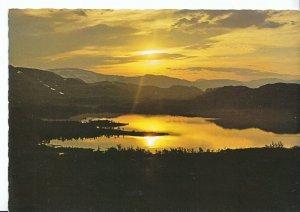 Sweden Postcard - Midnattssol      AB2404