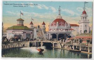 Lagoon & Shooting the Chutes, Luna Park, Coney Island NY