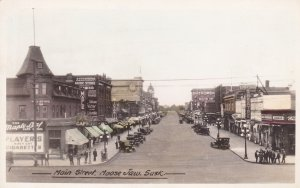 RP: MOOSE JAW, Saskatchewan, Canada, 1900-1910's; Main Street
