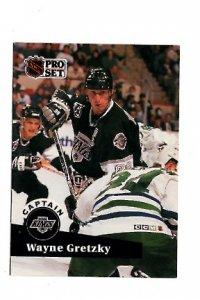 Wayne Gretzy 1991 NHL Hockey Card