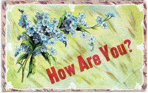 Greetings - How Are You?