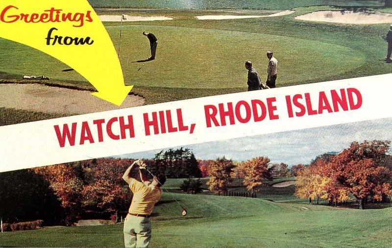 RI - Watch Hill. Greetings! (Rhode Island)