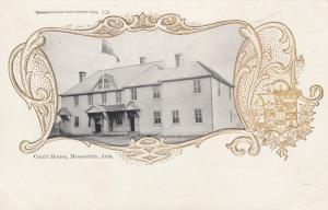 MOOSOMIN , Sask. , Canada , 1900-10s ; Court House
