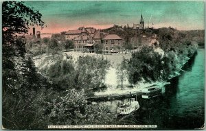 Minneapolis, Minnesota Postcard Soldiers Home from the River c1910s Unused