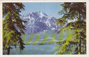 Canada Pyramid Mountain Pyramid Lake