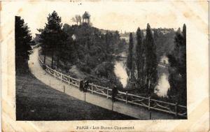 CPA PARIS 19e Les Buttes-Chaumont (302367)