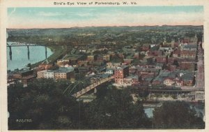 PARKERSBURG , West Virginia, 1910s ; Bird's Eye View