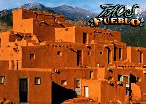 New Mexico Taos Pueblo