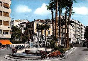 Italy Old Vintage Antique Post Card The Fountain 1957
