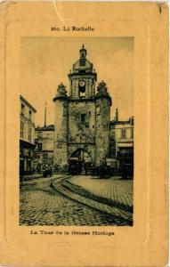 CPA LA ROCHELLE - La Tour de la Grosse Horloge (480613)