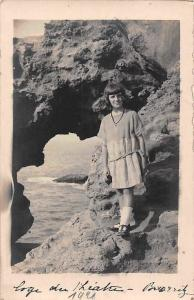 France Biarritz Plage Fille, Vintage, Girl, Photography