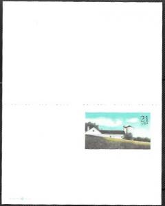 US UY43 Mint Reply Postcard.