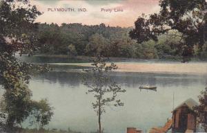Pretty Lake , PLYMOUNTH , Indiana , PU-1908