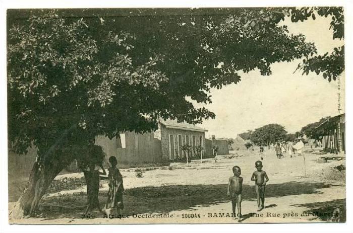 BAMAKO , Mali , 00-10s ; Une Rue pres du Marche