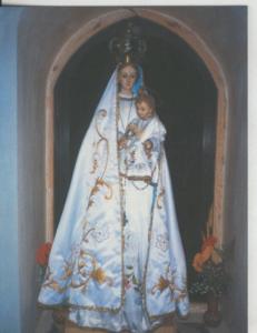 Postal 008726: Virgen Ntra Sra del Vi?ro, titular de la ermita de El Grado en...